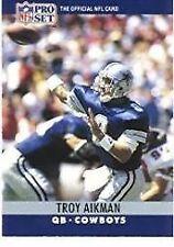 1990 Pro Set Troy Aikman #78 Football Card Dallas Cowboys QB
