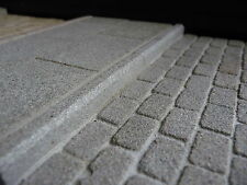 "5  3"" REAL GREY STONE KERBSTONES SM PACK MINIATURE"