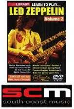 LEARN TO PLAY LED ZEPPELIN VOLUME 2 LICK LIBRARY DVD!