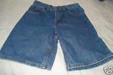 New Boys size 8 Exceed Relaxed Fit long Leg Jean Shorts