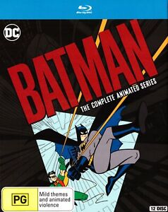 Batman - The Complete Animated Series Blu Ray (12 Disc Set) Boxset Region B