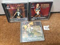 Tomb Raider Bundle 1 2 Last Revelation - Playstation 1 PS1 - N10