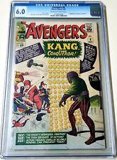 Avengers #8 CGC 6.0 OW-W 1st Appearance Kang the Conqueror 1964 MCU VILLIAN 🔥🔥
