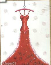 DESIGN WORKS WONDERFUL TONIGHT,Counted Cross Stitch Kit.RED DRESS,MPN 2488