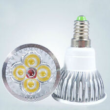 E14 4x1W LED SPOTLIGHT BULB LAMP 4W HIGH POWER DAY COOL WHITE CE RoHS LS 5