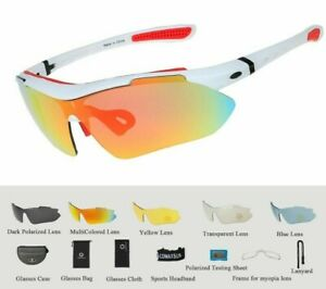 Professional Polarized Cycling Glasses Sports Bicycle Sunglasses Uv 400