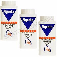3 x MYCOTA MEDICATED ATHLETE'S FOOT POWDER 70g TREATS & PREVENTS ATHLETE'S FOOT