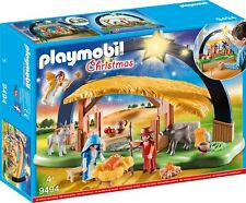 Playmobil 9494 Christmas Illuminating Nativity Manger