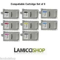 WF PFI-701 8 Color Ink set Cartridge for Canon Printer iPF 8000s 9000s 8100 9100