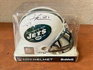 Ladainian Tomlinso #21 New York Jets AUTOGRAPHED  Mini Helmet Riddell - Rare