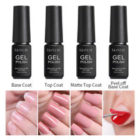 Top Coat Base Coat UV Gel Nail Soak Off Vernis à Ongles Semi-Permanent LILYCUTE