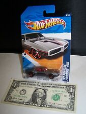 Hot Wheels Gray '67 Pontiac Firebird 400 #86 - Street Beasts #6 - 2010