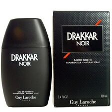 Drakkar Noir Guy Laroche Men 3.4 oz 100 ml Eau De Toilette Spray Box Sealed