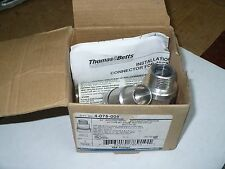 "Thomas & Betts 4-075-008 3/4"" Jacketed Metal Clad Cable Connector, New"