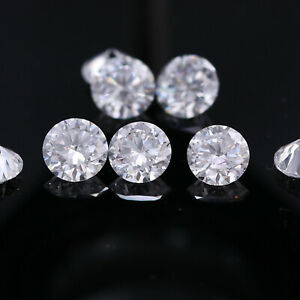 100% Natural SI G-H Round Loose 2.20 mm Brilliant Cut 10 Polished Diamonds