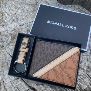 Michael kors Gifting Slim Bifold with Key Fob Men's
