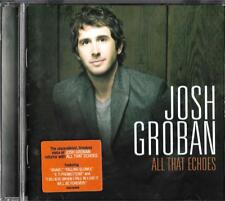 Josh Groban cd album - All That Echoes, excellent condition