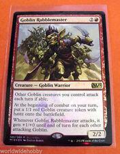 MTG MAGIC THE GATHERING GOBLIN RABBLEMASTER FOIL M15 BOX PROMO NEW!