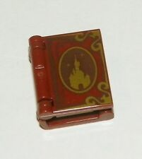 LEGO -  Minifig, Utensil Book w/ Disney Castle, Gold Trim & Once Upon a time...