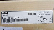 ELNA RE2-160V101M Capacitor New Lot Quantity-500