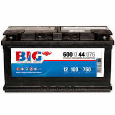 Autobatterie 12V 100Ah ersetzt 72 74 83 88 90 92Ah Kaltstartleistung 760A/EN