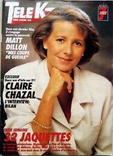 TELE K7 1993: CLAIRE CHAZAL_YVES DUTEIL_JANE SEYMOUR_MATT DILLON_CLAUDE BRASSEUR