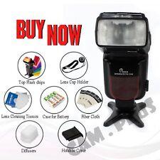 Pixco PG-708 TTL GN54 Flash Speedlite For Canon 7D Mark II 5DIII 600D 750D 80D