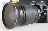 New 0.43X WIDE ANGLE MACRO Lens For Nikon NIKKOR 18-200mm AF-S Zoom Lens 72mm