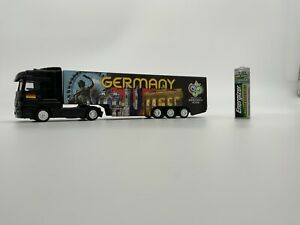 GERMANY FIFA Worldcup 2006 Team Truck Model Gift Limited Edition HO Scale 1:87