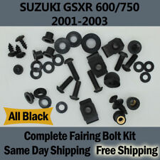 Gsxr 600 750 Fairing bolts for 2001 2002 2003 Complete Installation Hardware a01