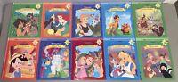*B* Lot of 10 Disney Storytime Treasures Library Hardcover Books MINT Bambi
