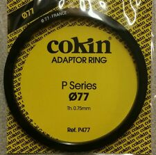 77mm Cokin Genuine P Adaptor Ring Fits Kood And Cokin P Series Filter Holders