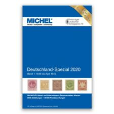 Michel 2020 Germany Specialised Stamp Catalogue Volume 1 - 1216 Coloured Pages