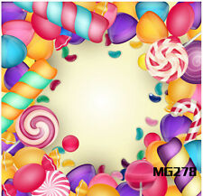 5X7FT Candyland Vinyl Photography Backdrop Sweet Background Studio Props MG278 S