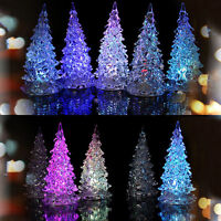 7 Colors Changing LED Christmas Tree Decoration Light Night Light Indoor、FRDUK