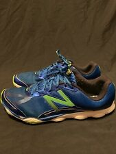 sports shoes b3eec 3eda5 New Balance Minimus MR10WB2 Running Shoes Men s Green Blue Size 11 Vibram