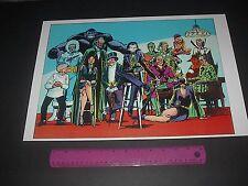 DC COMICS THE LEGION OF SUPER-VILLAINS POSTER RIDDLER,GRODD,JOKER,CATWOMAN