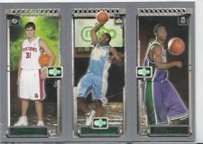 2003-04 Topps Rookie Matrix TJ Ford Darko Milicic Carmelo Anthony RC