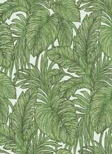 Erismann Green Palm Leaf Glitter Wallpaper White Floral Paste The Wall Vinyl