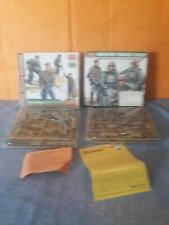 ACADEMY MILITARY LOT DEUX MAQUETTES FIGURES SERIES GERMAN  1/35 COMPLETES #5/6
