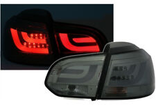 Coppia Fari Posteriori LED CCFL LTI (Light Tube) VW Golf VI 6 (08-12) NERI/FUME