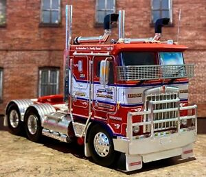 Kenworth K100G Truck Lindsay Bros Alloys Iconic Replicas 1:50 Scale Model New!