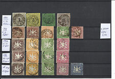 GERMANY WURTEMMBERG @ BEAUTIFULL COLLECTION € 8600.00 NICE PRIZED @WV1540