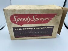 Paint Speedy Sprayer Gun Heavy Duty 331-A W.R. Brown Corp. Box & Paperwork