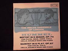 J.N. Hummel - Septet in D Minor/Quintet in E Flat / Melos Ensemble of London