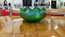 Palme & König Schale - Grün irisierend