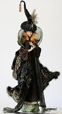 """One Of A Kind Elegant Witch (38"""" tall)"""