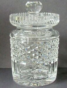 WATERFORD CRYSTAL GIFTWARE HONEY / PRESERVE POT (Ref7286)