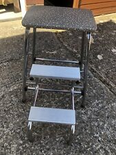 Vintage, Retro  Metal Kitchen Stool/Steps 1960/70's by Brabantia Good Condition.