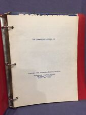 Commodore Easy Mail And Easy Script Manuals In Binder